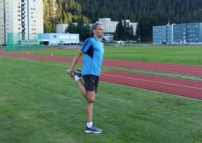 Skriešanas treniņi kopā ar Salvi Gruševu